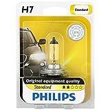 Philips H7 Standard Halogen Replacement Headlight Bulb, 1 Pack