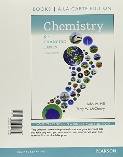 Chem.For Changing Times (Looseleaf)