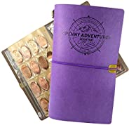 The Penny Journal by Pennybandz Holds 146 Coins The Ultimate Souvenir Penny Collecting Book for Your Coin Coll