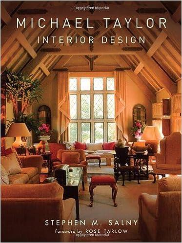 Michael Taylor Interior Design Stephen M Salny 9780393732351
