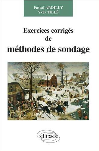 Livres gratuits Exercices corrigés de méthodes de sondage pdf, epub ebook