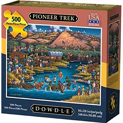 Dowdle Jigsaw Puzzle - Pioneer Trek - 500 Piece: Toys & Games