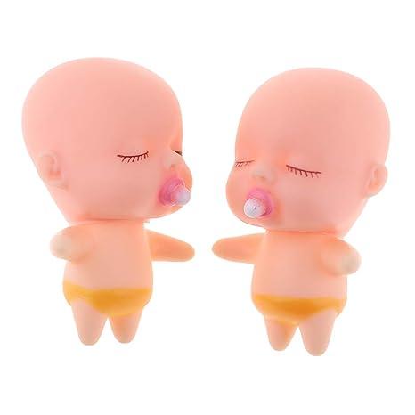 Amazon.es: KESOTO 2X Juguete Infantil de Bebé con Chupete ...