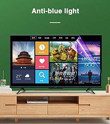 RPOLY TV Protector de Pantalla, Anti Luz Azul Ultra Claro ProteccióN para Los Ojos Protectores de Pantalla Antideslumbrante Anti ArañAzos Filtros de Privacidad, 75 Pulgadas,A: Amazon.es: Hogar