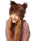 New Fashion Women's Faux Rabbit Fur Russian Cossack Style Hat Winter Cap