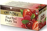Twinings Four Red Fruits Flavoured Black Tea 50g. (2g.x25 Sachets)