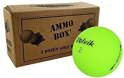 Volvik Vivid Mix Recycled Mint Golf Balls3-Dozen