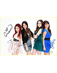 VICTORIOUS tv show full cast reprint signed 8x12 photo #4 RP Nickelodeon Grande Justice