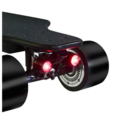 MiXXAR 4Pcs Skateboard Lights Bike Lights USB Rechargeable Night Warning Bicycle Tail Red Light Super Bright Led Safety Lights Outdoor Waterproof Rear Lights for Skateboard Longboard : Sports & Outdoors
