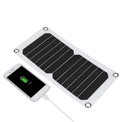 Vbestlife Panel Solar Portatil Cargador Solar Plegable ...