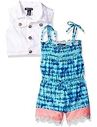 Girls Vest and Bodysuit Set