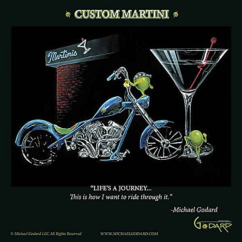 Amazon.com: Custom Martini Michael Godard Funny cóctel ...