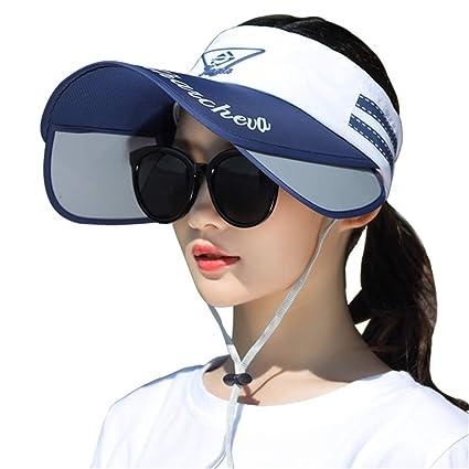 9639618d3 Xuanbao-Hat Women Golf Visor Beach Straw Women Sports Fitness Sun ...