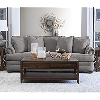 Amazon.com: Klaussner Heights Loveseat, Chocolate