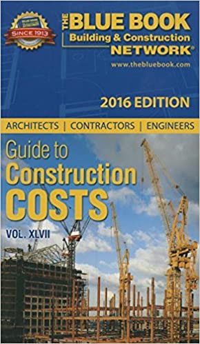 Construction Blue Book >> Architects Contractors Engineers Guide To Construction Costs