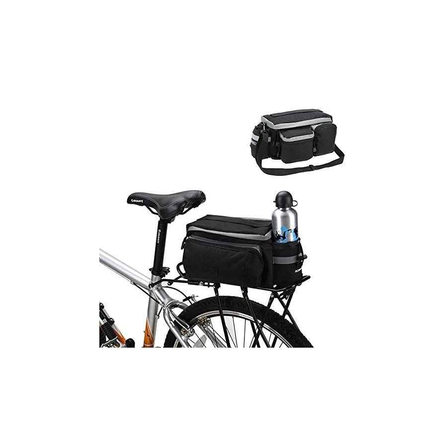 Onedayshop Multi Function Mountain Road Bicycle Bike Cycling Sport Waterproof 7L Rear Seat Bag Pannier Trunk Bag Bicycle Accessories