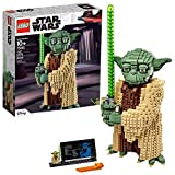 LEGO Star Wars: Attack of The Clones Yoda 75255 Yoda Building Model and Collectible Minifigure with Lightsaber, New 2019 (1,771 Pieces)
