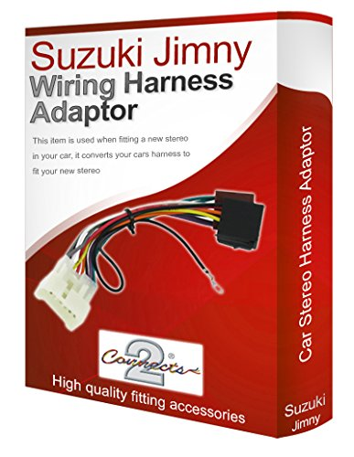 Jimny CD radio stereo wiring harness adapter lead loom: Amazon.co.uk: Electronics