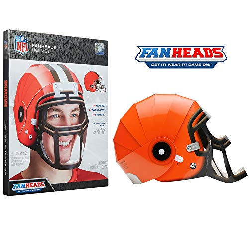 FanHeads Cleveland Browns - Wearable NFL Replica Helmets - Pick Your Team!, Orange