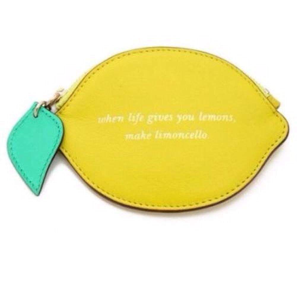 Kate Spade limón calle limón Monedero Caso limonchello ...