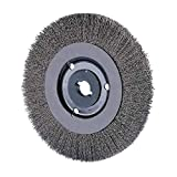 6'' Crimped Wire Wheel Narrow Face .006 Ss Wire