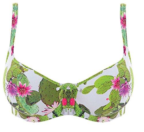 Freya Cactus Sweetheart Bikini Top, 32E, Lime Fizz (32e Swimwear)