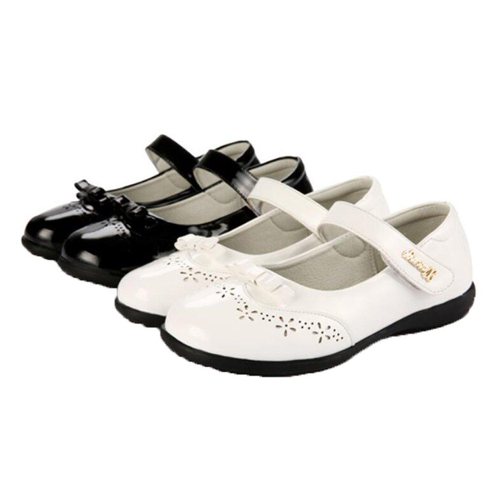 f4db94449bb9 DADAWEN Mädchen Strap Kleid Schuhe Kinder Mary Jane Halbschuhe ...