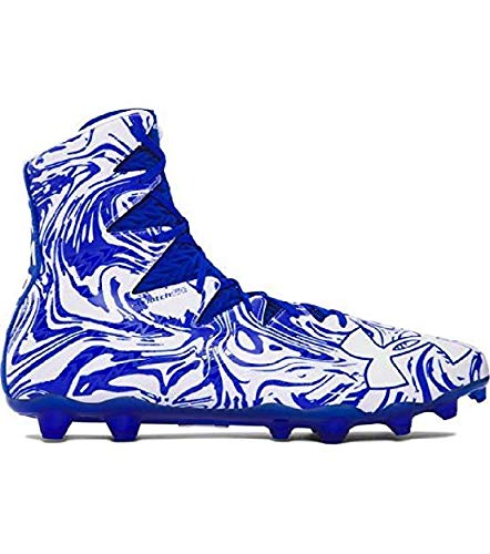 be3258545 Image Unavailable. Image not available for. Color: UA Under Armour  Highlight Lux MC Royal Blue/White Men's Football Cleats ...