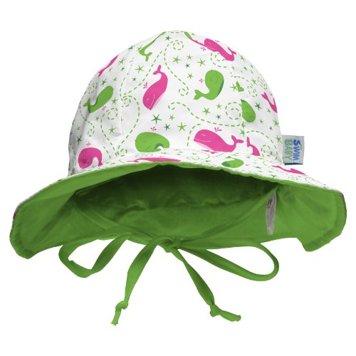 My Swim Baby Sun Hat, Wilma The Whale, Medium by My Swim Baby