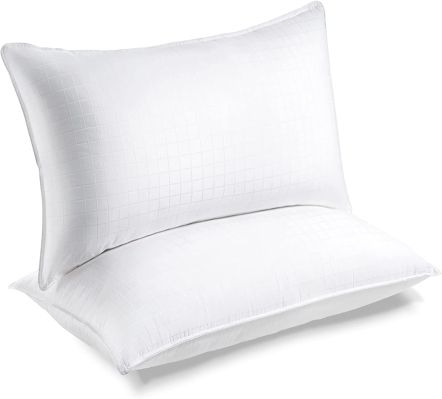 Lifewit Bed Pillows for Sleeping, Soft Support Sink-in Pillows, Queen Size Set of 2, Supportive Cooling Pillows for Side Stomach Back Sleepers