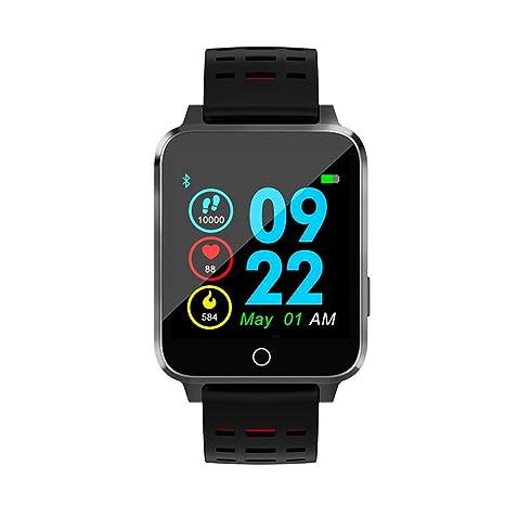 Cebbay Reloj Inteligente Pantalla a Color Resistente al Agua Monitor de Pulso cardiaco Reloj Deportivo Pulsera