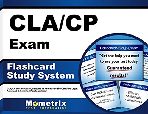 cla cp exam flashcard study system cla cp test practice questions rh amazon com Exam Study Guide Book certified legal assistant exam study guide