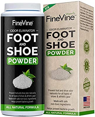 Foot and Shoe Powder - Deodorizer