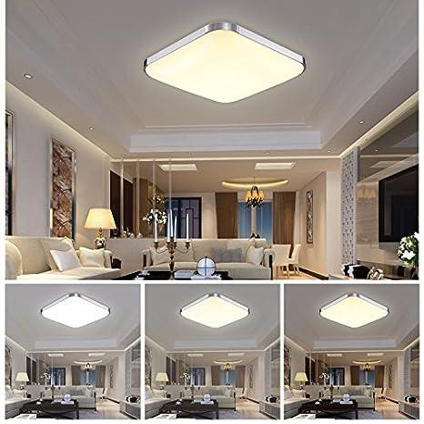 HG® 12W 3in1 LED Luz de techo Moderno Interiores Lámpara Color Cambiar Función Escaleras Interior Luz de la lámpara 176V-264V [Energy Class A ++]