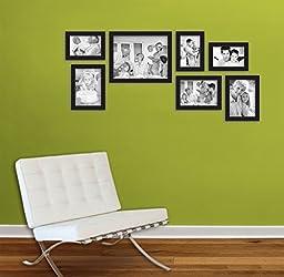 MCS 7-Piece Gallery Frame Set, Black (49709)