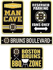 Boston Bruins Four Pack Fan Sign Set