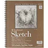 #8: Strathmore Series 400 Sketch Pads 9 in. x 12 in. - pad of 100