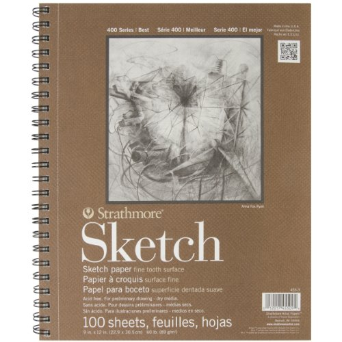 Strathmore Series 400 Sketch Pads 9 in. x 12 in. - pad of 100 (Drawing compare prices)