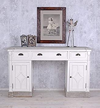 Palazzo Int Schreibtisch Im Landhausstil Weiss Büro Tisch