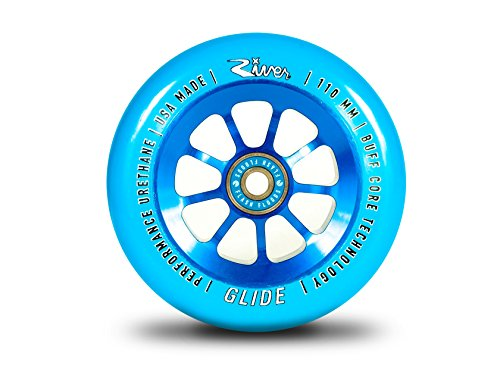 River Glide Wheel Blue (Pair) 110mm scooter