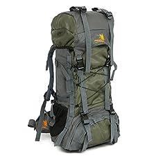 Hiking Backpack Internal Frame 60L