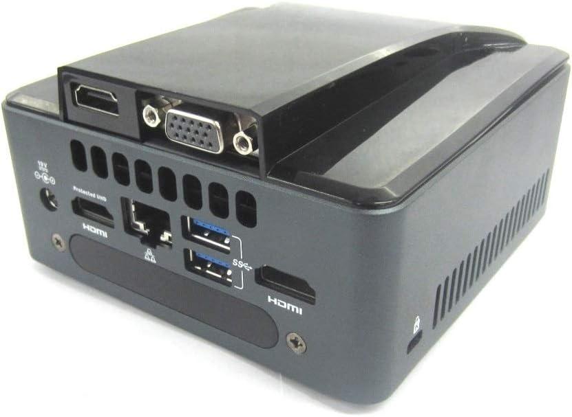 GORITE Intel NUC HDMI and VGA LID for 7th Gen Dawson Canyon NUC