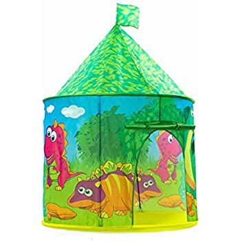 Dinosaur Castle Tent PLAY10 Playhouse Children Pop up Play Tent for Kids Indoor u0026 Outdoor Fun  sc 1 st  Amazon.com & Amazon.com: Firehouse Tent with Carrying Case: Toys u0026 Games