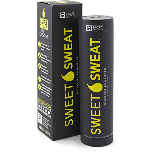 Sweet Sweat Stick - 6.4oz | Helps increase circulation, sweating and motivation during exercise | Made in the USA