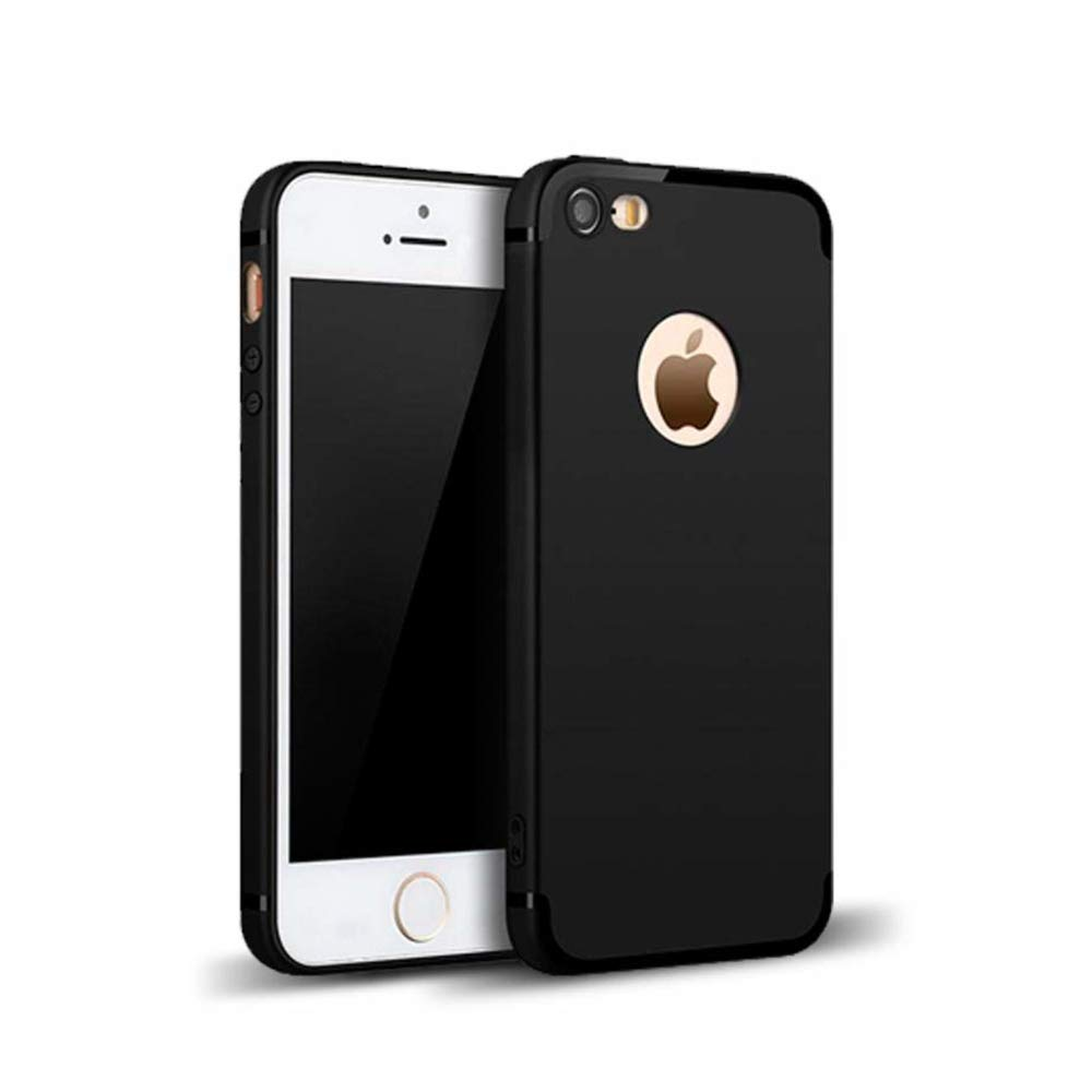 MOBILIFY TPU Back Cover for Apple iphone 5/5S/SE -Black