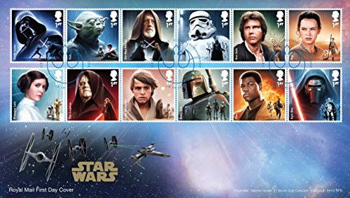 (Royal Mail British Star Wars The Force Awakens Official Tribute First Day Cover)