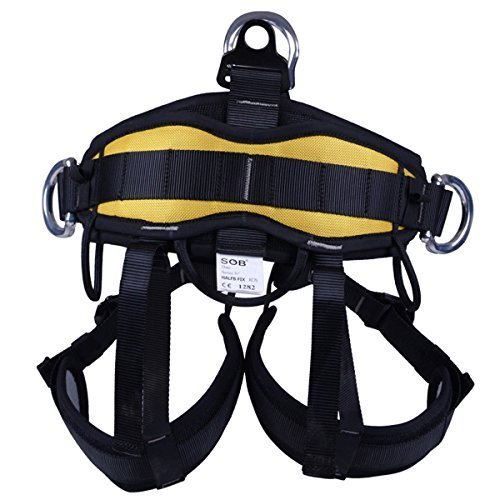 ROSY CLOUDS Good Strong Safety Belt Bust Belt Harness Climbing Outdoor Rappelling Equipment (Harness Rappelling Quick)