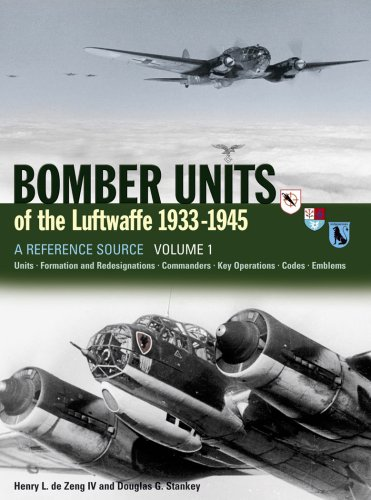 Bomber Units of the Luftwaffe 1933-45: A Reference Source Luftwaffe Bomber