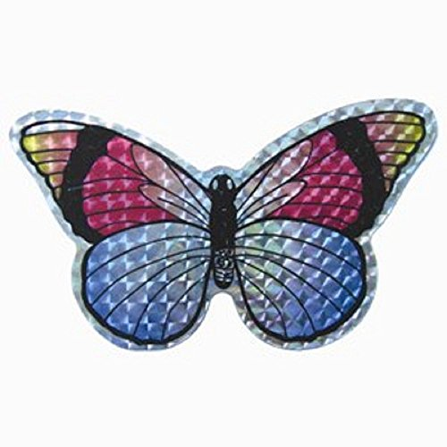 StealStreet SS-OS-52069  Butterfly Decorative Screen Refrigerator Magnet, 5.5', Multicolor