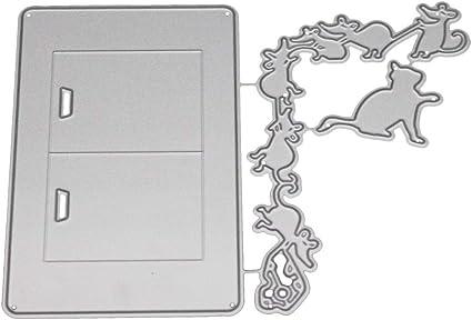 Cutting Dies,IHGTZS Mothers Day DIY Scrapbooking Album Die-Cut New Metal Scrapbooking Tools Gift for Mother DIY Scrapbooking Photo Album Decor Embossing Metal Die-Cut Stamp Stencils